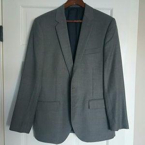 New J.Crew Thompson 42r Charcoal Blazer Jacket